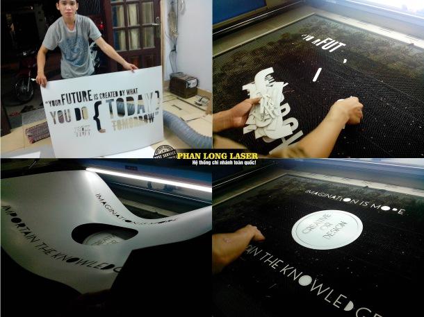 Xưởng cắt giấy bằng máy laser tại Hà Nội
