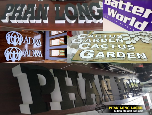 Địa chỉ Nhận cắt chữ mica theo yêu cầu tại Tp Hồ Chí Minh, Hà Nội và Đà Nẵng giá rẻ