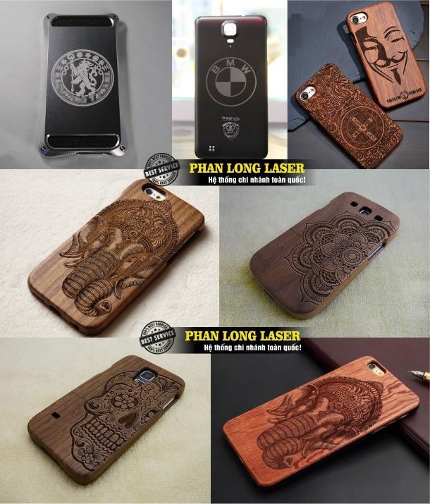 Địa chỉ cơ sở chuyên nhận khắc chữ khắc tên, khắc logo hoa văn, khắc hình ảnh chân dung, khắc thư pháp theo yêu cầu lên thân vỏ ốp lưng của điện thoại