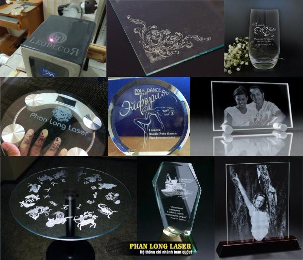Địa chỉ Công ty khắc laser lên thủy tinh gốm sứ, pha lê, trang sức ở Hà Nội