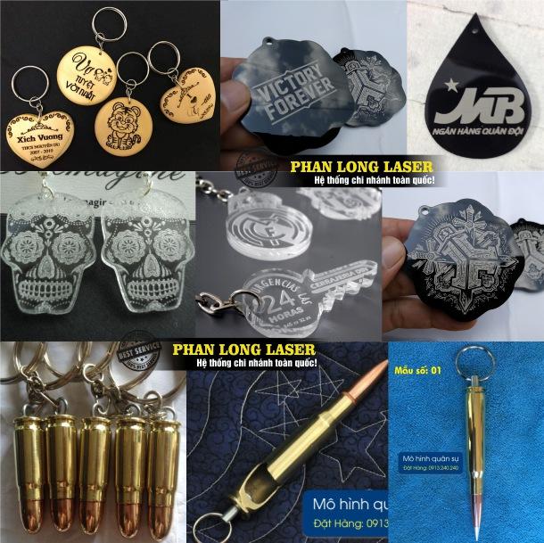 Công ty nhận sản xuất theo yêu cầu các sản phẩm móc chìa khóa bằng gỗ, móc chìa khóa bằng nhựa mica, móc chìa khóa bằng vỏ đạn, móc chìa khóa bằng da