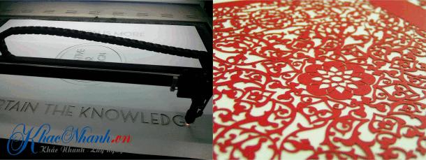 Cắt laser trên giấy tại Thanh Xuân Hà Nội