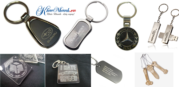 Địa chỉ sản xuất móc chìa khóa giá rẻ ở Hà Đông Hà Nội