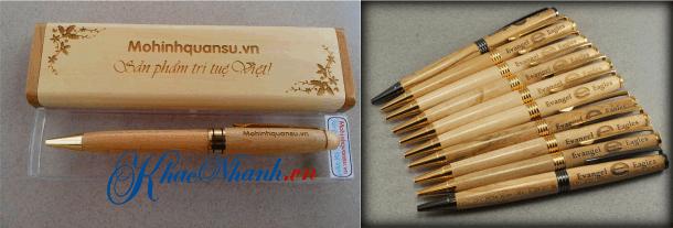 Địa chỉ khắc bút gỗ ở Hà Nội