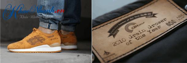 Khắc laser giày dép da tại Hà Nội