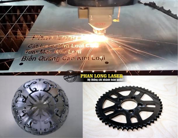 Địa chỉ Cơ sở chuyên nhận gia công cắt laser trên inox kim loại đồng nhôm sắt thép ở Hà Nội và Tp Hồ Chí Minh