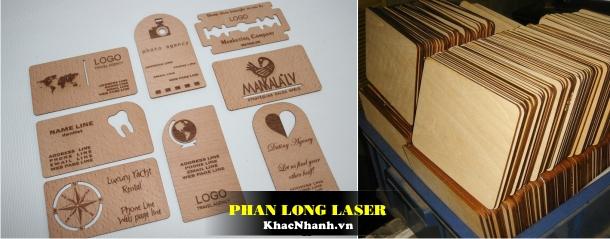 Làm Card Visit bằng gỗ lấy liền tại Sài Gòn và Hà Nội