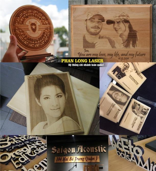 Địa chỉ Nhận Cắt Chữ Gỗ, Cắt Laser trên gỗ, cắt tạo hình trên gỗ tại Hà Nội