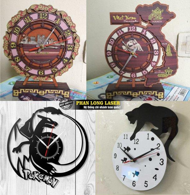 Cơ sở nhận sản xuất thiết kế làm đồng hồ gỗ, đồng hồ mica tại Tphcm Sài Gòn, Hà Nội, Đà Nẵng và Cần Thơ