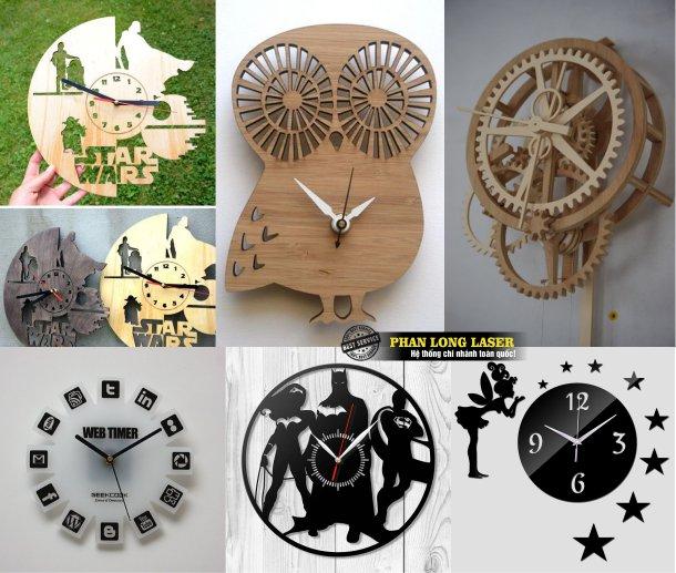 Xưởng sản xuất làm đồng hồ gỗ, làm đồng hồ mica tại Tp Hồ Chí Minh, Sài Gòn, Hà Nội, Đà Nẵng và Cần Thơ