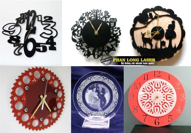 Khắc Hình Ảnh, Khắc hoa văn lên đồng hồ mica theo yêu cầu giá rẻ