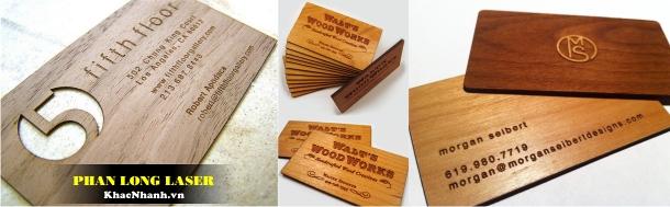 Cơ sở Làm Danh thiếp bằng gỗ, Name Card bằng gỗ, Card visit bằng gỗ