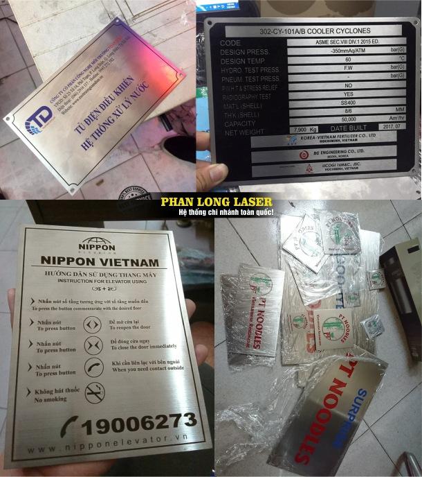 Công ty chuyên nhận gia công thiết kế và làm theo yêu cầu Tem Nhãn Mác Kim Loại Inox 304, Đồng Nhôm, Sắt thép giá rẻ tại Tphcm Hà Nội Đà Nẵng Cần Thơ