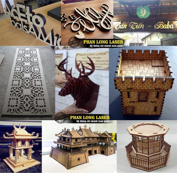 Địa chỉ Xưởng Cắt hoa văn trên gỗ, đục lỗ trên gỗ bằng laser, cắt gỗ làm mô hình, sa bàn theo yêu cầu tại Quận 5 Tphcm