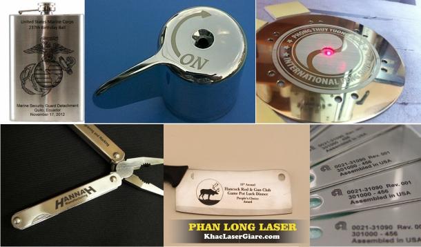 Khắc Kim Loại, Khắc Inox bằng Laser tại Bình Thạnh