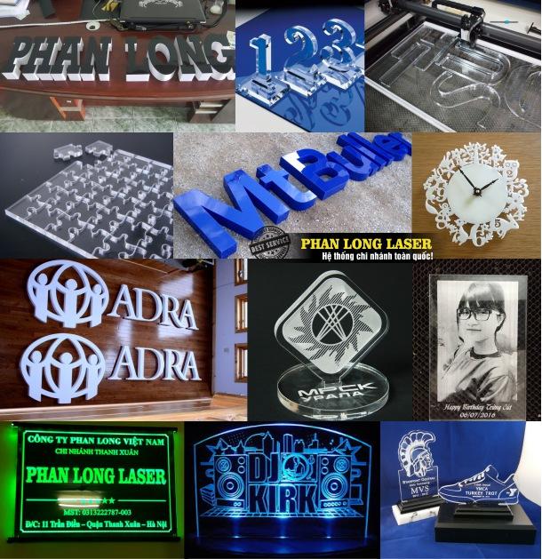 Địa chỉ xưởng cắt mica, cắt nhựa, khắc trên nhựa và mica giá rẻ ở Hà Nội