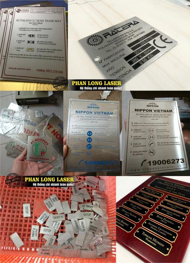 Cơ sở chuyên nhận gia công sản xuất các sản phẩm tem nhãn mác trên mọi chất liệu