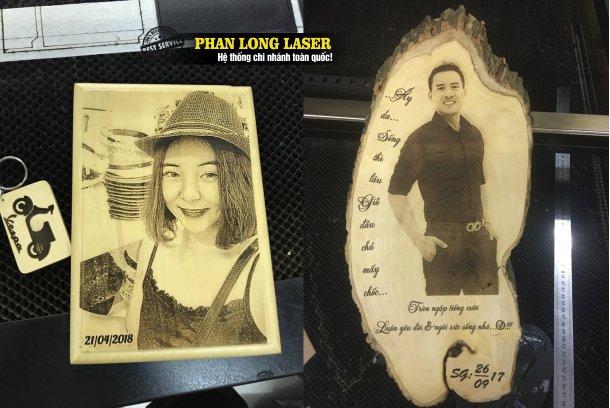 Ảnh cưới bằng gỗ khắc laser là món quà tặng đầy ý nghĩa và đẹp mắt