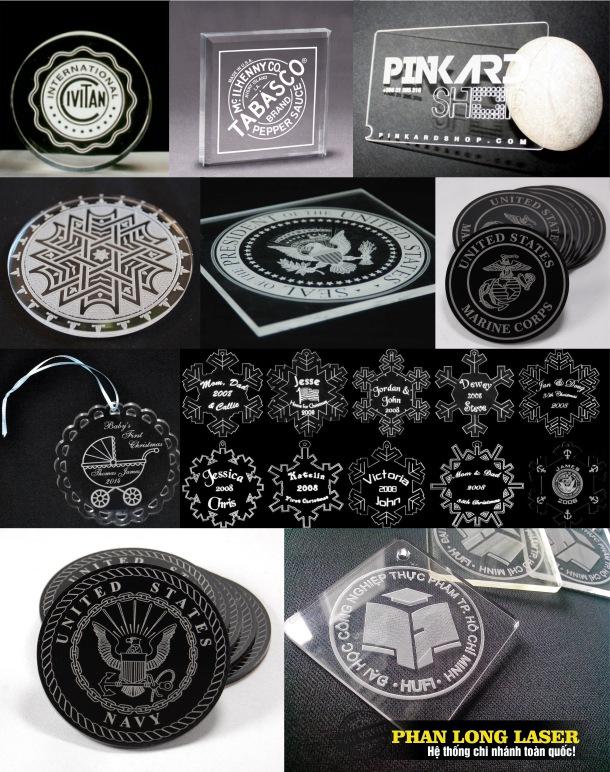 Một số hình ảnh móc khóa mica mà chúng tôi thực hiện khắc logo lên tại Tp Hà Nội và Tp Hồ Chí Minh
