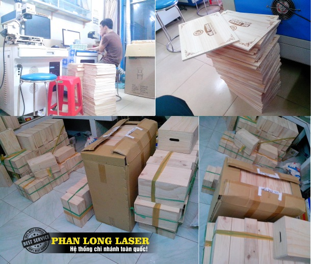 Địa chỉ công ty khắc laser theo yêu cầu lên Gỗ giá rẻ ở Hà Nội