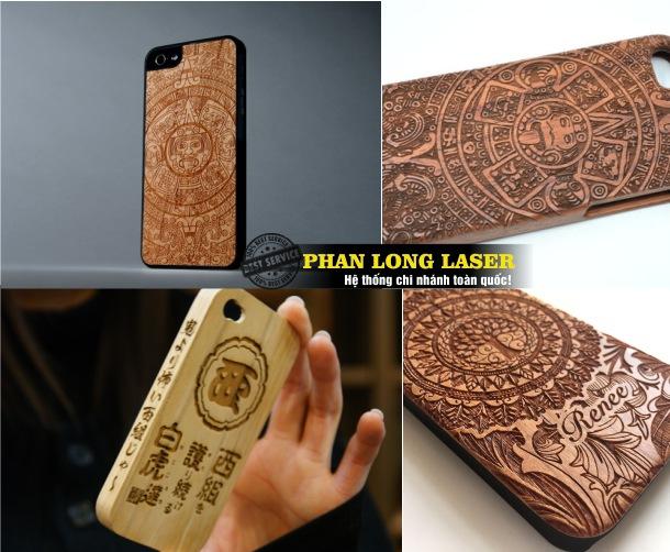 Khắc vỏ điện thoại gỗ bằng laser tại Thanh Xuân, Cầu Giấy, Đống Đa, Hai Bà Trưng, Long Biên, Ba Đình Hà Nội