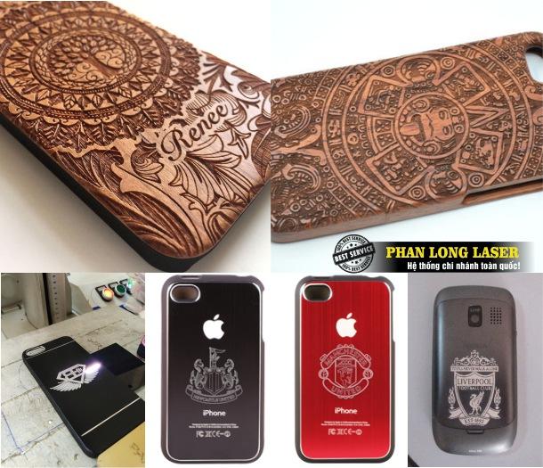 Khắc ốp lưng điện thoại theo yêu cầu tại Hà Nội, Tp Hồ Chí Minh, Đà Nẵng, Cần Thơ