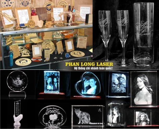 Khắc Laser Quà Tặng tại Đà Nẵng, Sài Gòn, Hà Nội, Cần Thơ