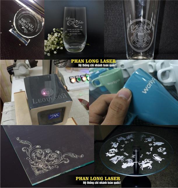 Cơ sở chuyên nhận khắc laser lên ly cốc thủy tinh pha lê, sản phẩm quà tặng, kỷ niệm chương cúp bằng pha lê giá rẻ