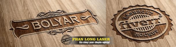 Khắc thư pháp trên gỗ bằng máy laser có đẹp không?