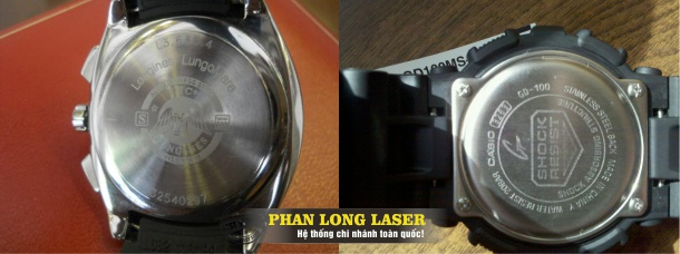 Tìm hiểu công nghệ khắc laser lên nắp lưng của đồng hồ đeo tay