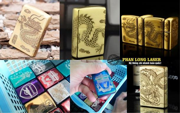 Địa chỉ Khắc laser, khắc chữ khắc tên, khắc hoa văn, khắc hình ảnh lên Bật lửa Zippo tại Đà Nẵng