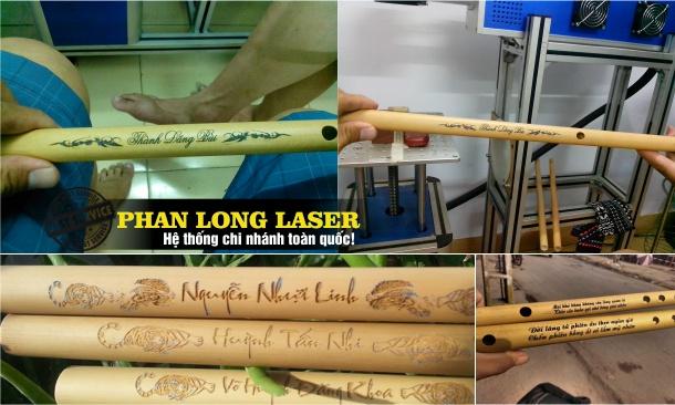 Địa chỉ Khắc laser lên sáo trúc theo yêu cầu tại Tphcm Đà Nẵng Hà Nội