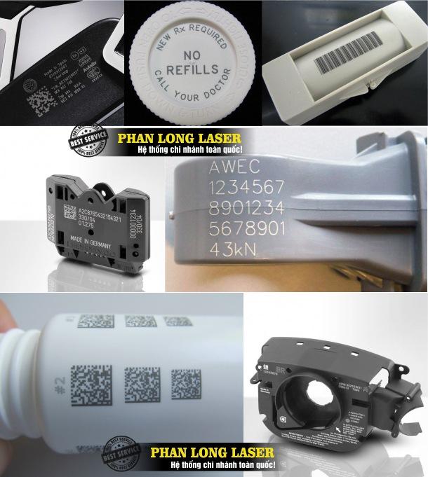 Địa chỉ cơ sở chuyên nhận khắc laser thông số kỹ thuật, khắc logo, khắc mã vạch theo yêu cầu lên nhựa giá rẻ tại Hà Nội