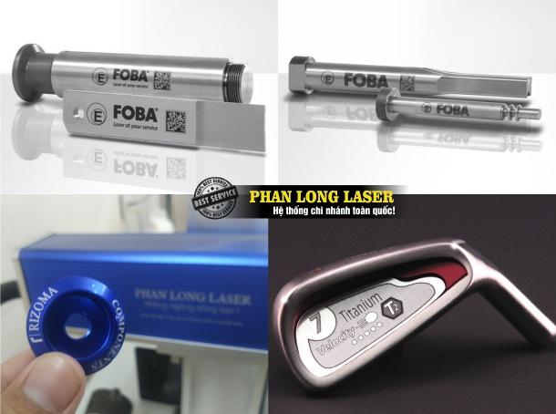Công ty chuyên nhận khắc logo hoa văn theo yêu cầu lên kim loại inox đồng nhôm sắt thép bằng máy laser giá rẻ