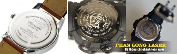 Cách khắc tên, khắc chữ lên đồng hồ đeo tay đẹp