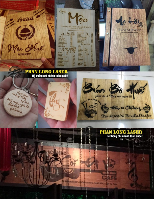 Công ty chuyên nhận gia công khắc chữ thư pháp theo yêu cầu lên gỗ, quà tặng gỗ, vật phẩm bằng gỗ giá rẻ