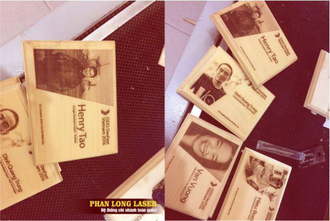 Khắc chân dung tranh ảnh lên gỗ bằng tia laser tại Sài Gòn, Đà Nẵng, Hà Nội