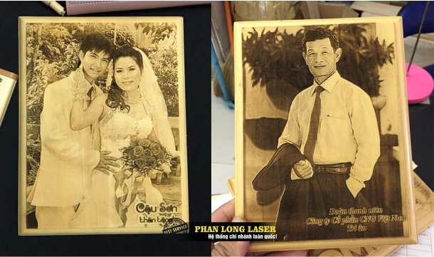 Cơ sở nhận làm ảnh cưới khắc laser theo yêu cầu tại Tp Hồ Chí Minh - Sài Gòn và Hà Nội