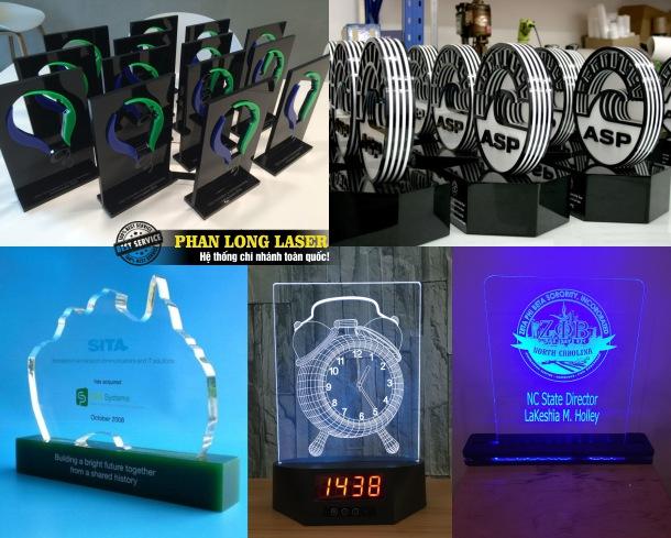 Công ty nhận làm bảng vinh danh bằng nhựa acrylic, làm cúp bằng nhựa acrylich giá rẻ