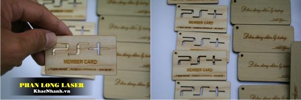 Làm Danh thiếp bằng gỗ tại Tân Phú Gò Vấp TPHCM Thanh Xuân Cầu Giấy Hà Nội