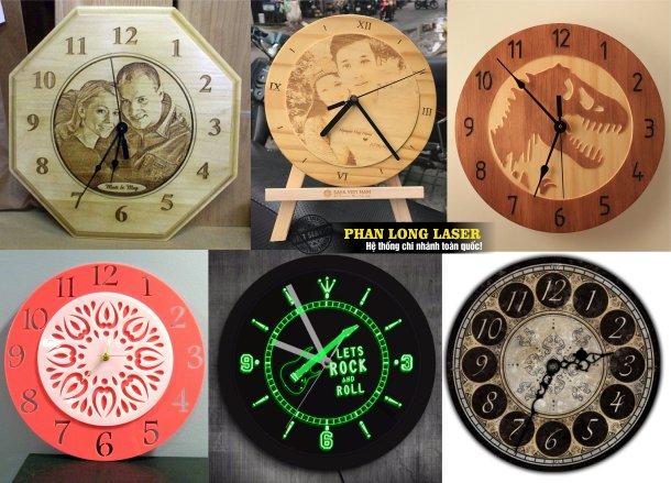 Công ty chuyên gia công và nhận làm đồng hồ gỗ, đồng hồ mica giá rẻ tại Tphcm Sài Gòn, Hà Nội, Đà Nẵng và Cần Thơ