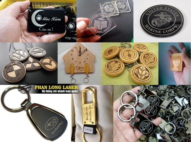 Địa chỉ Làm móc khóa theo yêu cầu, khắc chữ, khắc tên, khắc logo, khắc chân dung hình ảnh lên móc khóa giá rẻ ở Hà Nội