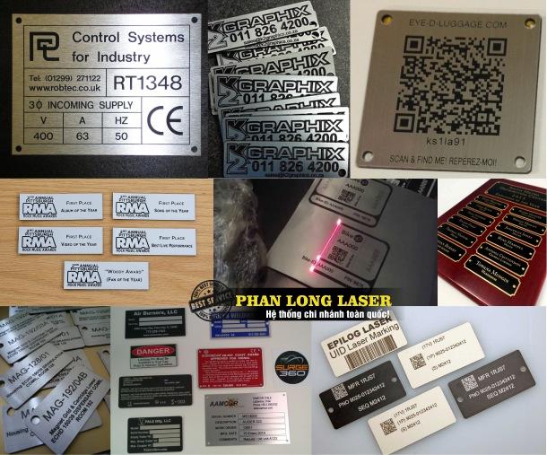Địa chỉ Khắc Nhãn mác và sản xuất tem nhãn mác theo yêu cầu giá rẻ