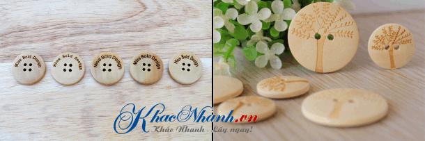Địa chỉ sản xuất cúc áo, nút áo bằng gỗ ở Hà Nội