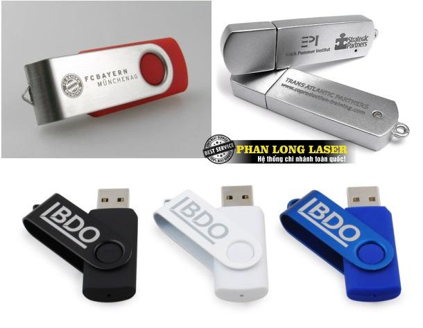 Khắc tên lên USB, Khắc chữ lên USB tại Hà Nội và Tphcm