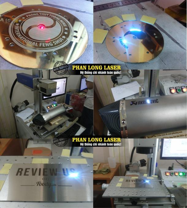 Địa chỉ Xưởng cắt khắc laser lên kim loại tại Tp Hồ Chí Minh, Hà Nội, Đà Nẵng, Cần Thơ