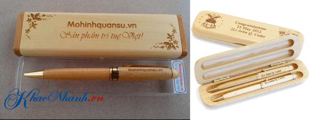 Sản xuất bút gỗ ở Hà Nội