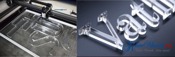 Nhận cắt mica tại Hà Nội bằng máy laser