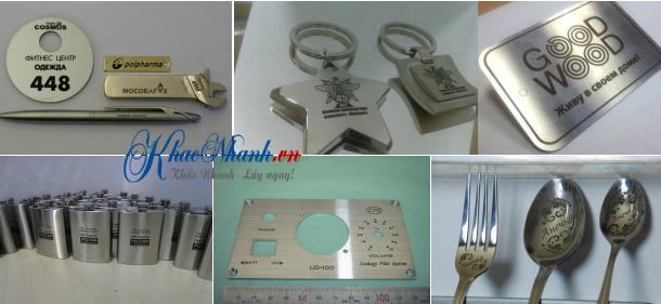 Số nhà khắc laser lên kim loại ở Hà Nội Long Biên