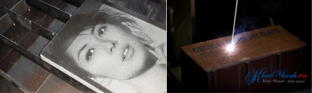 Địa chỉ khắc ảnh trên đá bằng laser ở Hoàn Kiếm HN
